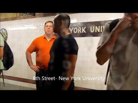 A ride on a NYCTA R46 R train from Canal St to 8th Street NYU
