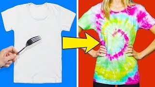 20 COLORFUL AND SIMPLE CLOTHING HACKS FOR CHILDREN