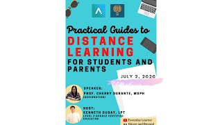 Practical Guides to Distance Learning for Parents and Students