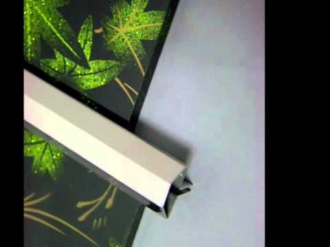 Metal tile trim, stainless trim, colored glass tile trim molding(남흥)