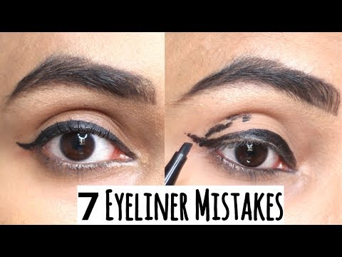 7 EYELINER Mistakes you should Avoid | Wing Eyeliner लगाते समय यह गलतियां न करें