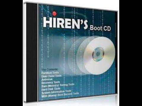Como Baixar e Gravar Hirens Boot CD