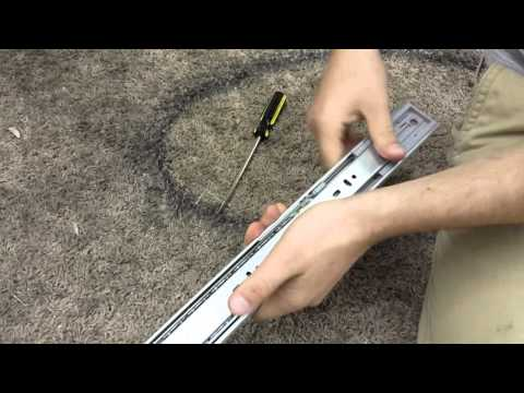 How to Fix a Soft Close Drawer Slider