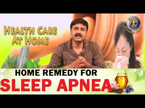 HOME REMEDY FOR SLEEP APNEA II अत्यधिक नींद के कु प्रभावों का घरेलू उपचार II