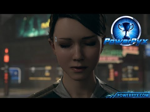 Detroit Become Human - SHELTER Trophy Guide (Kara and Alice sleep in Squat)