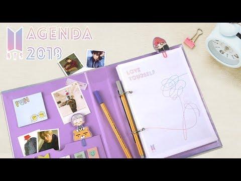 DIY K-POP : HAZ TU PROPIA AGENDA DE BTS 2018