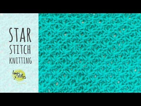 Tutorial Knitting Star Stitch