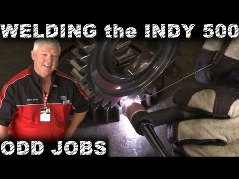Welding the Indy 500: Odd TIG Welding Jobs | TIG Time