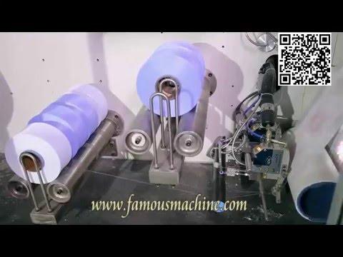 Low Price Full Servo Baby Diaper Making Machine From China - Famous Machine