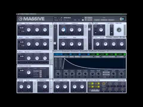 NI Massive Tutorial [How To Make AfroJack Style Synth]