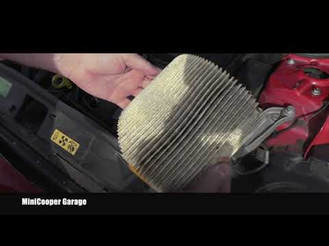 Mini Cooper Engine Air Filter Inspection, Replacement