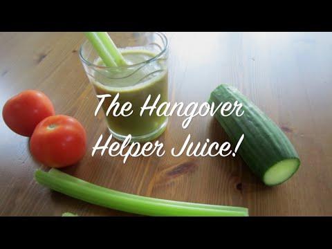 How to Prevent a Hangover & a Healthy Hangover Helper Juice Recipe!