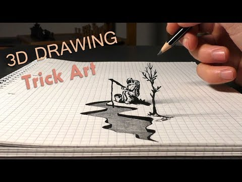 How To Draw Astrofisher/ easy 3D ART for beginners/learn tutorial