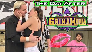 JAMES ELLSWORTH MAKES OUT w/ FEISTY GIRL MID MATCH!