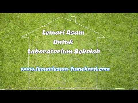 Lemari Asam Model FHD untuk Laboratorium sekolah