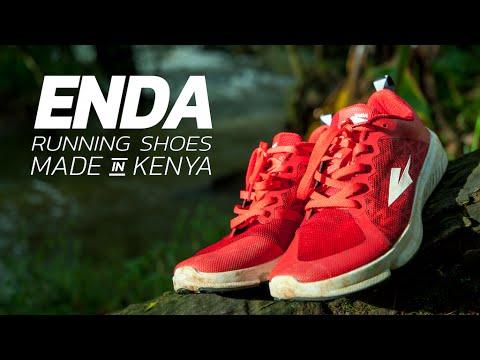 Enda: Running Shoes Made in Kenya
