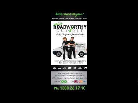 Mobile Roadworthy Guy Qld