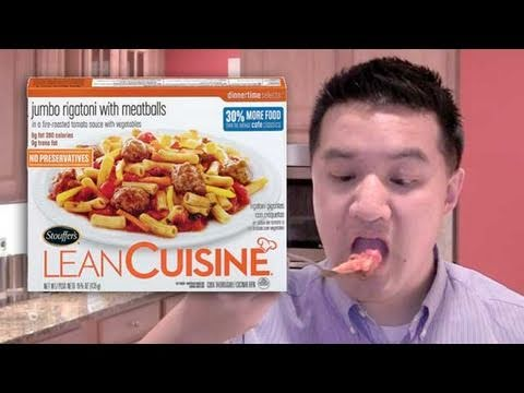 Video Review of Lean Cuisine Jumbo Rigatoni with Meatballs: