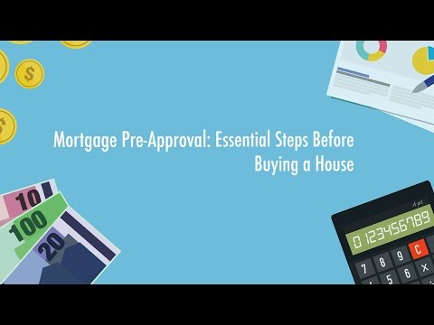 Steps Before Buying a House: Mortgage Pre Approval