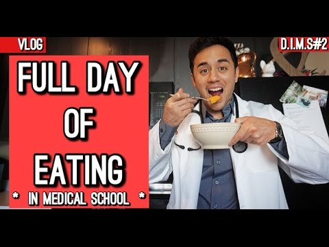 Full Day of Eating | Dieting in Medical School #2