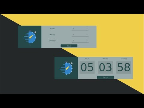 Javafx Tutorial #2 Countdown Timer Using SceneBuilder (In Eclipse) Part 0 : Overview