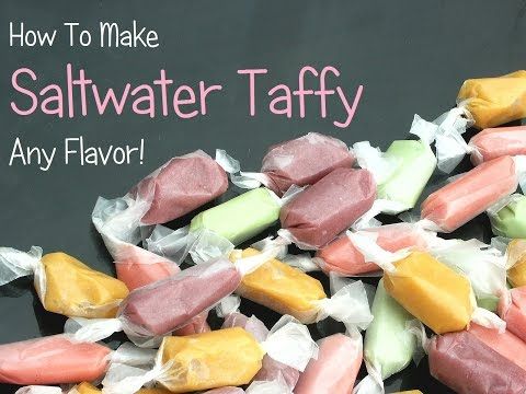 Let's Make Saltwater Taffy - Fun & Easy Recipe!
