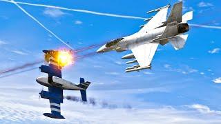 Chasing the Plane - GTA 5 Action Short film