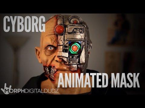 MorphDigitalDudz - Cyborg Animated Mask