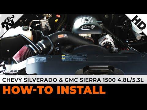 1999 - 2004 Chevy Silverado 1500 & GMC Sierra 1500 4.8L/5.3L Air Intake Installation
