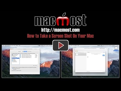 How to Take a Screen Shot On Your Mac (#1224)