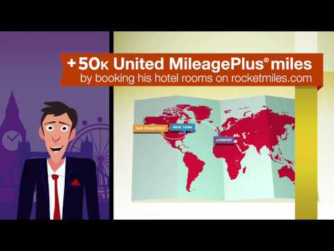 Rocketmiles + United MileagePlus®