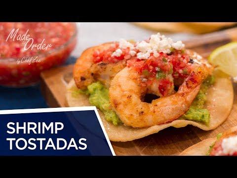Shrimp Tostadas | Lent Recipes | Made To Order | Chef Zee Cooks