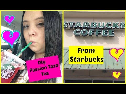 DIy Starbucks Passion Tazo Tea
