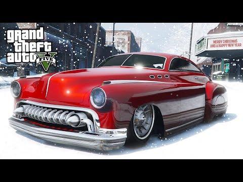 GTA 5 - NEW LEGENDARY HERMES CHRISTMAS CAR!! (GTA 5 Doomsday Heist DLC Update)