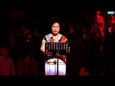 Presidential bet Miriam Santiago on corruption