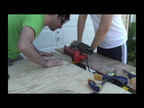 Hand Plane Body Surfing DIY