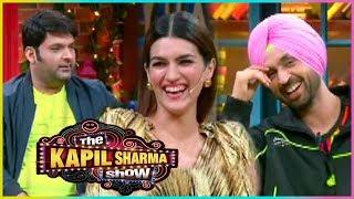 Kapil Sharma FUNNY English Lessons From Kriti Sanon & Diljit Dosanjh   The Kapil Sharma Show