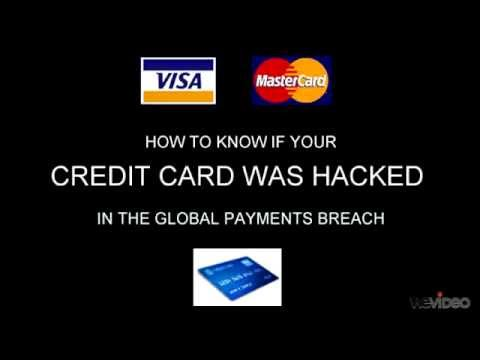How to tell if my credit card was stolen in the Global Payments fraud