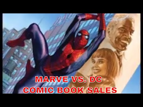 MARVEL FANS ARE SWINGING INTO COMIC BOOK SHOPS TO SHUT DC OUT : TOP 10 COMICS SOLD TO CUSTOMERS