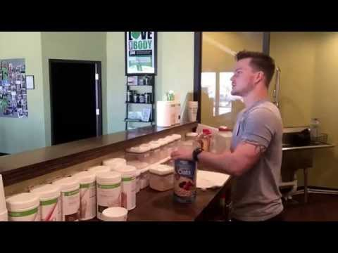 No Bake Cookie Herbalife Protein Shake (how-to)