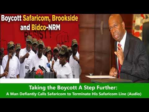 A Man Calls Safaricom & Boycotts  Saying