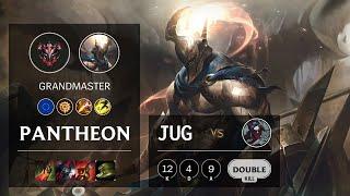 Pantheon Jungle vs Kayn - EUW Grandmaster Patch 10.13