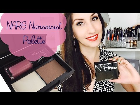 NARS Narsissist Blush, Contour & Lip Palette | First Impressions + Swatches