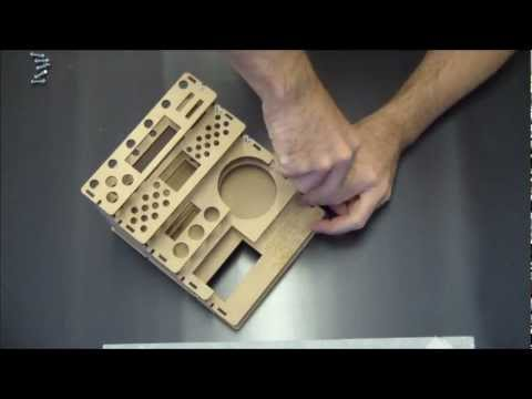 The Rack: Assembly Instructions Straight Section, Small, Tool Rack