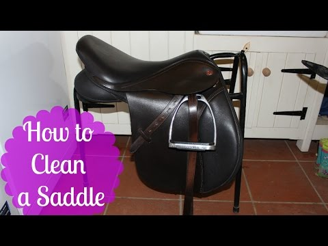 How to Clean a Saddle | Tutorial