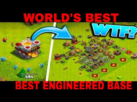 WORLD'S BEST ENGINEERED BASE 😱😱😱 AMAZING