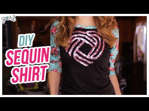 Do It, Gurl – DIY Sequin Sweater