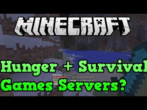 Minecraft Xbox One / PS4: Hunger Games + Survival Games Servers