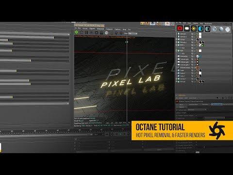 Octane Tutorial: Fix Hot Pixel Fireflies & Faster Renders