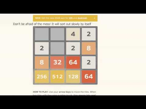 How to Win 2048 easily, tips and tricks. Win in less than 15 minutes!